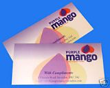 Quality Digitally Printed Colour Compliment Slips